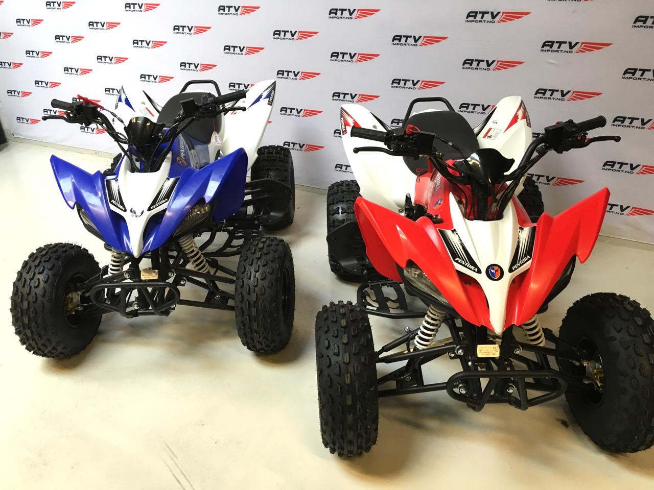 Pentora 125cc stor ungdoms ATV