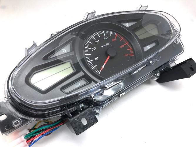 SnowMax speedometer/konsoll