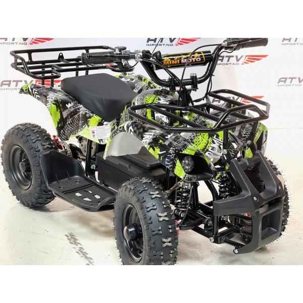 800 W Elektrisk barne ATV gul F1