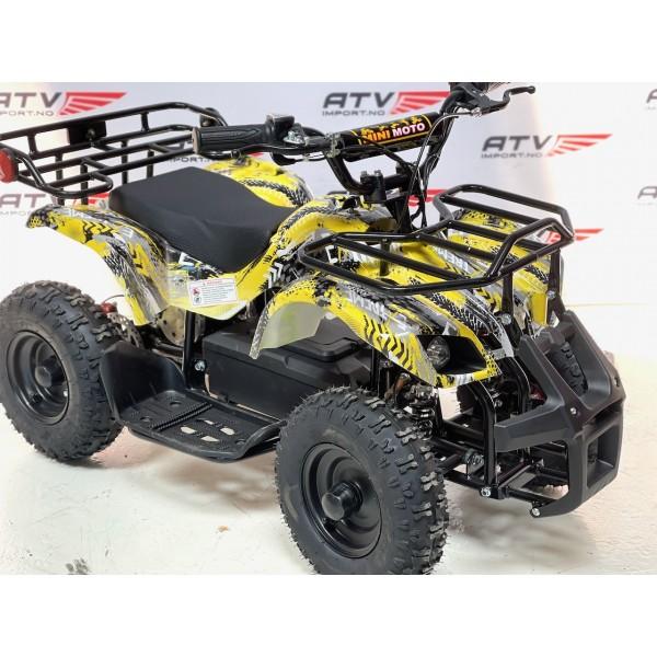 800 W Elektrisk barne ATV grønn F1