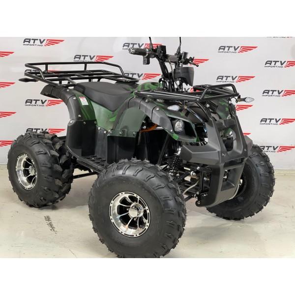 1500W Farmer 60V m/diff. - matt grønn camu m/alu felger og hydrauliske frembremser