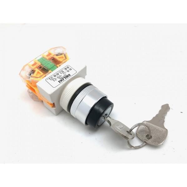 3-stegs hastighetsberenser med nøkkel for 500/800W/36 mini ATV.