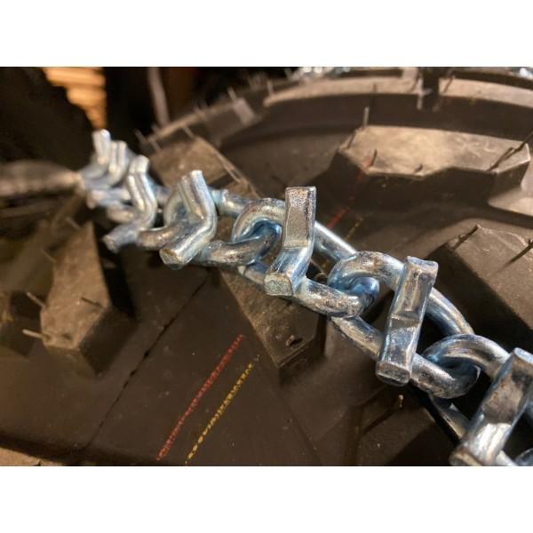 Kjettinger til 18x9.5-8 - par (bakhjul)