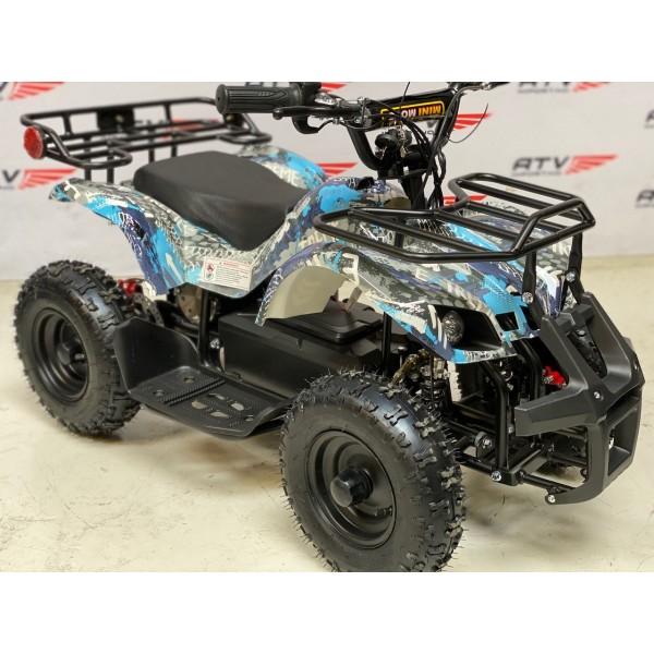 800 W Elektrisk barne ATV blå F1