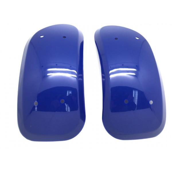 LEOPARD Forskjermer blå - sett 2 stk