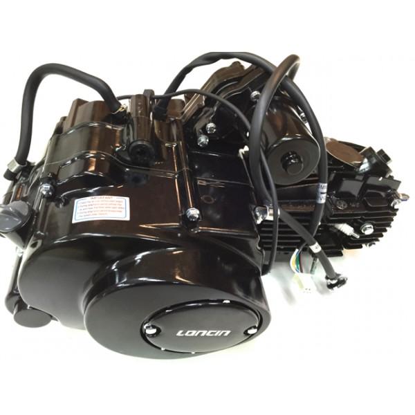 LONCIN motor 110cc 1+1, sort