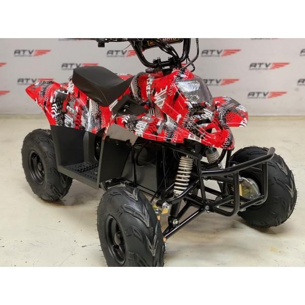 Elektrisk børsteløs, stor barne ATV rød F1