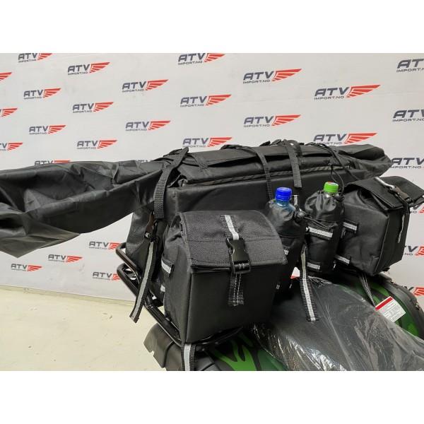 ATV bagasjeboks/bag - sammenleggbar sett, medium