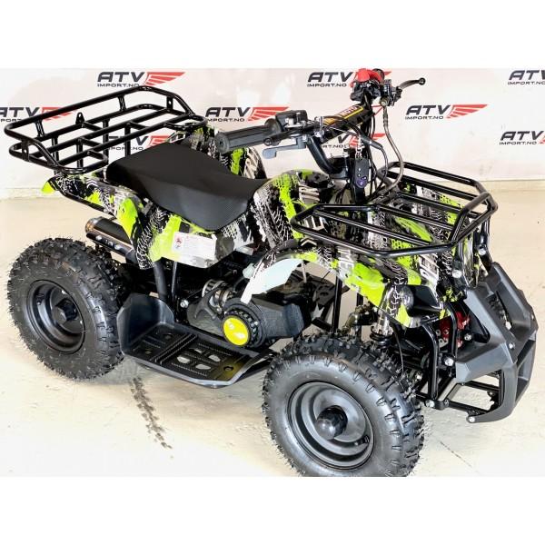 49cc Mini-Farmer m/el-start og fjernkontroll grønn F1