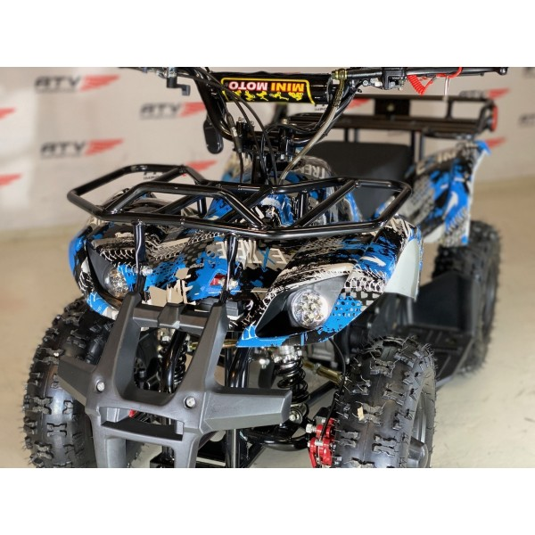 49cc Mini-Farmer m/el-start og fjernkontroll blå F1