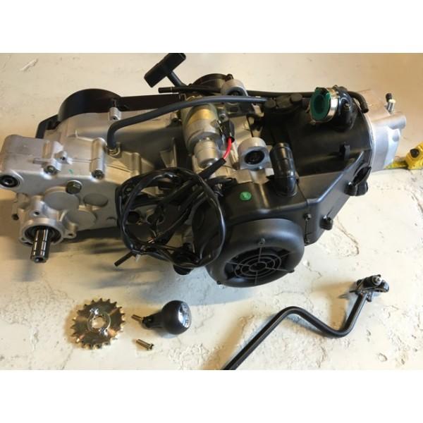Motor 200cc, GY6 firetakter m/revers
