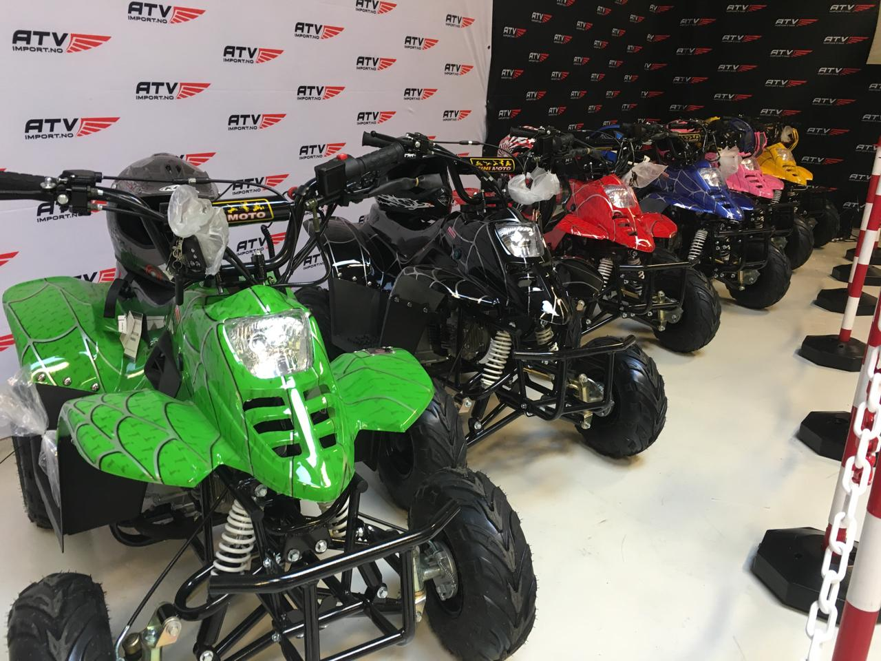 110cc spider modeller